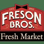 large fresh market logo aspect ratio 1 1